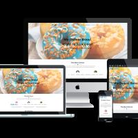 Ltheme Wordpress Theme: LT Donut Onepage – Free Single Page Responsive Bread Store / Donuts WordPress theme