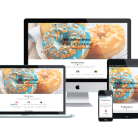 Wordpress Free Theme - LT Donut – Free Responsive Bread Store / Donuts WordPress Theme