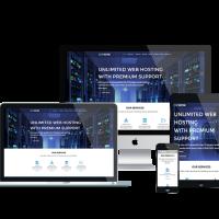 Ltheme Wordpress Theme: LT Hosting – Free Responsive Server / Hosting WordPress Theme