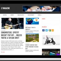 Ltheme Wordpress Theme: LT Magazine – Responsive Magazine WordPress Theme