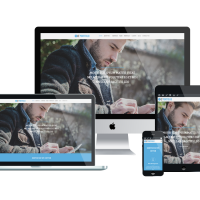 Ltheme Wordpress Theme: LT Portfolio Onepage – Free Single Page Responsive Image Design / Corporate WordPress theme