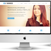 Wordpress template LT Business – Free Responsive Corporation / Business WordPress Theme