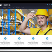 Ltheme Joomla Template: LT Industrial – Onepage Corporation / Industrial Joomla template