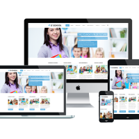 Ltheme Joomla Template: LT School – Responsive Education / School Joomla Template