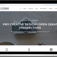 Ltheme Joomla Template: LT Stable – Free Responsive Creative Onepage Joomla! template