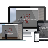 Wordpress Free Theme - LT Enterprise Onepage – Free Single Page Responsive Image Design / Creative WordPress theme