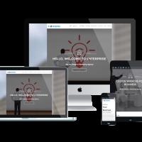 Ltheme Wordpress Theme: LT Enterprise Onepage – Free Single Page Responsive Image Design / Creative WordPress theme