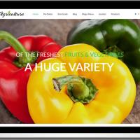 Ltheme Joomla Template: LT Agriculture – Onepage fruits & vegetables Joomla template