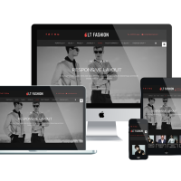 Joomla Premium Template - LT Fashion – clothes / fashion Joomla template
