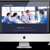 Ltheme Wordpress Theme: LT Blue Service Onepage – Free Single Page Responsive Business / Service WordPress theme