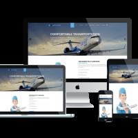 Ltheme Joomla Template: LT Aircoms – Premium Private Airplane Company / Air Transport Services Joomla template