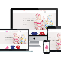 Wordpress Free Theme - LT Baby Shop – Free Responsive Kids / Baby Store WordPress Theme