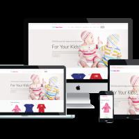 Ltheme Wordpress Theme: LT Baby Shop – Free Responsive Kids / Baby Store WordPress Theme
