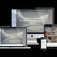 Ltheme Wordpress Theme: LT Architecture Onepage – Free Single Page Responsive Modern / Architecture WordPress theme