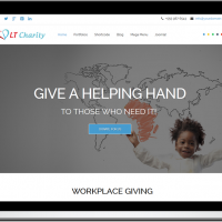 Joomla Free Template - LT Charity – Free One Page Responsive Non-Profit, Charity Joomla template