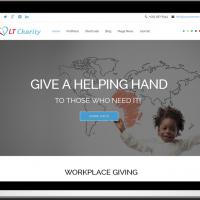 Ltheme Joomla Template: LT Charity – Free One Page Responsive Non-Profit, Charity Joomla template
