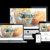 Ltheme Joomla Template: LT Donut – Free Responsive Bread Store / Donuts Joomla template