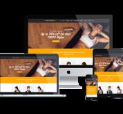 Ltheme Joomla Template: LT Sportswear – Free Sportswear/ Sports Website template