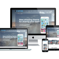 Wordpress Free Theme - LT Apptune – Free Responsive Mobile Apps WordPress Theme