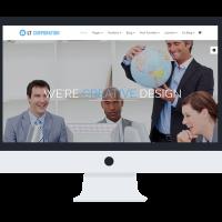 Ltheme Wordpress Theme: LT Corporation Onepage – Free Single Page Responsive Company / Corporation WordPress theme