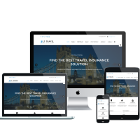 Wordpress Free Theme - LT Travel – Free Responsive Hotel / Travel WordPress theme