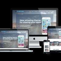 Ltheme Joomla Template: LT Apptune Onepage – Free Single Page Responsive Mobile Apps Joomla template