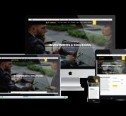Ltheme Joomla Template: LT Curico - Premium Private Cryptocurrency Website Template