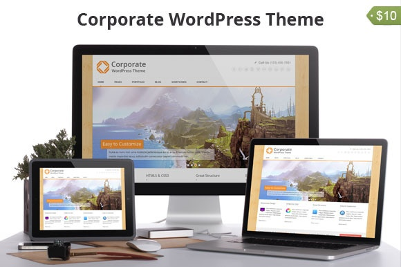 Wordpress Theme: Corporate WordPress Theme