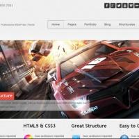 cyberspacebuilder Wordpress Theme: Standy Responsive WordPress Theme