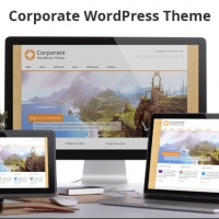 Wordpress Free Theme - Corporate WordPress Theme