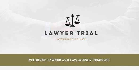 Joomla Template: Lawyer Trial- Attorney, Lawyer and Law Agency Joomla Template