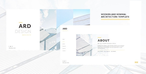 Joomla Template: ARD - Architect | Builder Minimal Joomla Template
