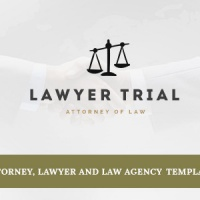 Joomla Premium Template - Lawyer Trial- Attorney, Lawyer and Law Agency Joomla Template