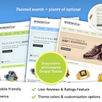 ThemeSnap Drupal Theme: WoowShop