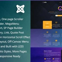 Joomla Premium Template - Onsite - Bootstrap One Page Business Joomla Template
