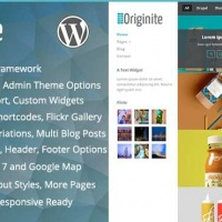 Wordpress Premium Theme - Originite - Responsive Portfolio WordPress Theme