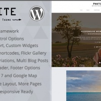 PCMShaper Wordpress Theme: Photoite - Responsive Photography WordPress Theme