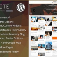 Wordpress Premium Theme - Pinnaite - Responsive Pinterest WordPress Theme