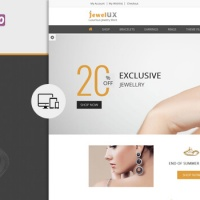 Wordpress Free Theme - JewelUX WordPress Theme