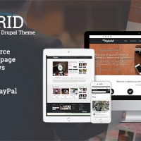 Drupal Themes: HYBRID - Powerful eCommerce Drupal Theme