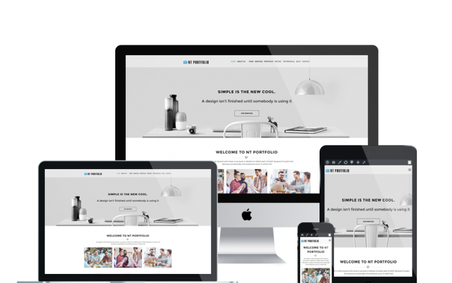 Wordpress Theme: NT PORTFOLIO – FREE CREATIVE / SHOWCASE WORDPRESS THEME