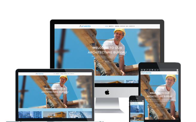 Wordpress Theme: NT Arcitex – Free Architecture/ House Design Wordpress Theme