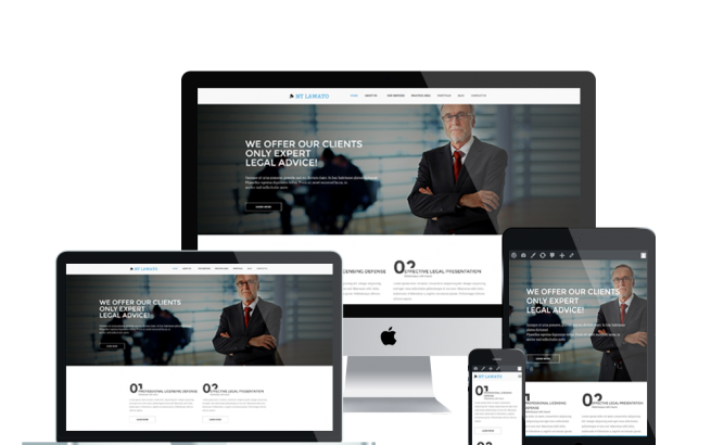 Wordpress Theme: NT Lawato – Free Law Firm Wordpress Theme