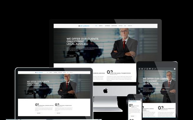 Wordpress Theme: NT Lawato – Free Law Firm Wordpress Theme
