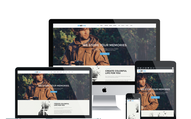Wordpress Theme: NT PIK – FREE IMAGE GALLERY/ PHOTOGRAPHY WORDPRESS THEME