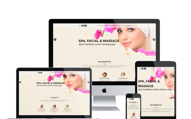 Wordpress Theme: NT SPA – FREE SAUNA / BEAUTY WORDPRESS THEME