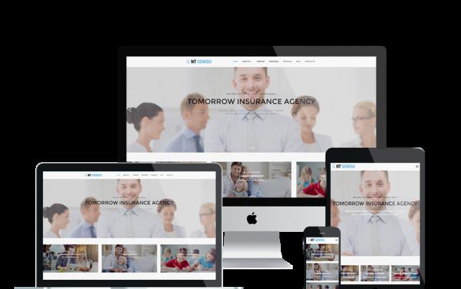Wordpress Theme: NT Genisu – Free InsuranceCompany Wordpress Theme