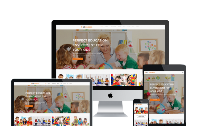 Wordpress Theme: NT PRISKUL – FREE EDUCATION/ SCHOOL DESIGN WORDPRESS THEME