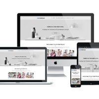 Wordpress template NT PORTFOLIO – FREE CREATIVE / SHOWCASE WORDPRESS THEME