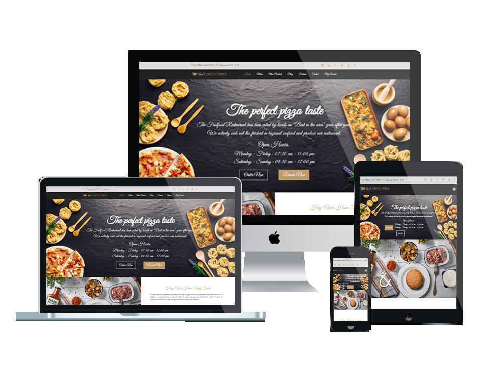 Wordpress Theme: WS Fast Food – Free Responsive Food Order Woocommerce Wordpress Theme